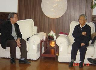 闫明复等兄弟组织领导莅临中国医药卫生事业发展基金会交流工作情况
