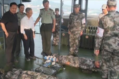 王彦峰理事长一行考察海上卫生船