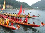 夏至节民间习俗:龙舟竞渡