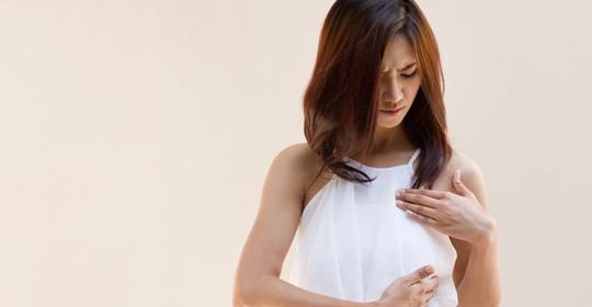 来月经为啥乳房会胀痛?同房后乳房胀痛怎