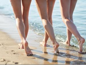 气温升升升!全国光腿预警地图出炉!你的腿敢光腿出街吗?