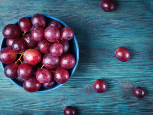 入秋吃葡萄好处多,好处就是能减肥