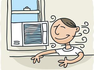 天气炎热,室内吹空调好,还是吹风扇好?