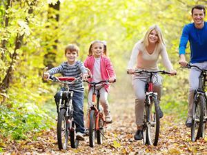 骑车健身学会这5种骑行法!
