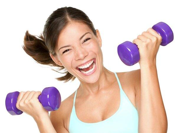女生用哑铃瘦手臂用几公斤的最适合?