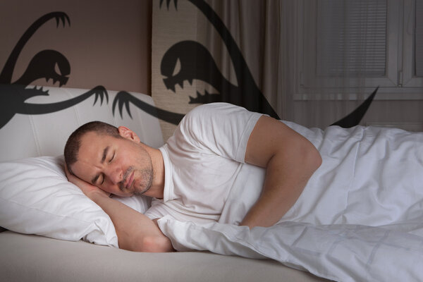 """噩梦与五种疾病相关!新研究却称噩梦""""有益""""?"""