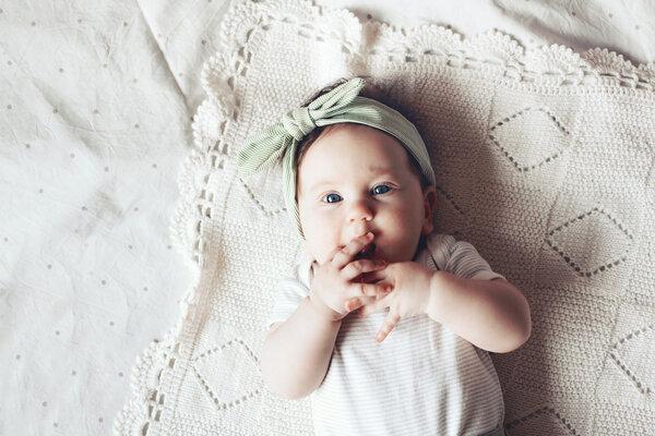 你家宝贝正处于第6个月