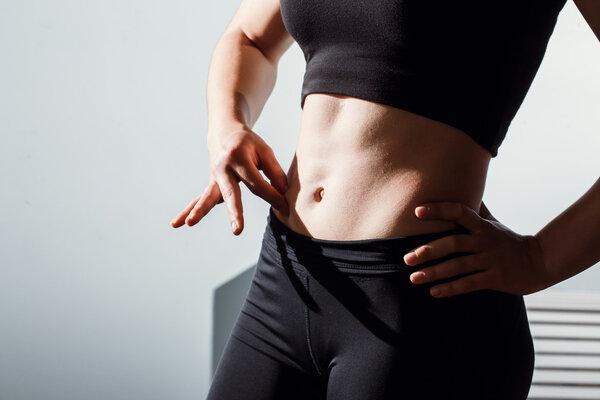 腹部肥肚子肥,怎么减下来!