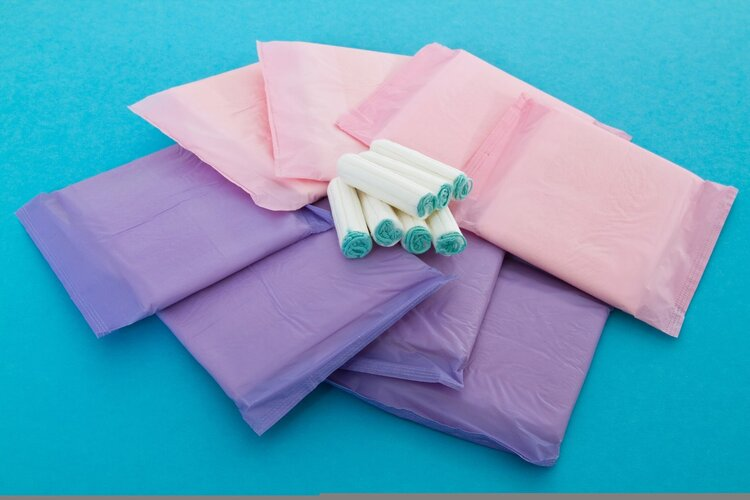 散装卫生巾安全吗?小心引起私处过敏