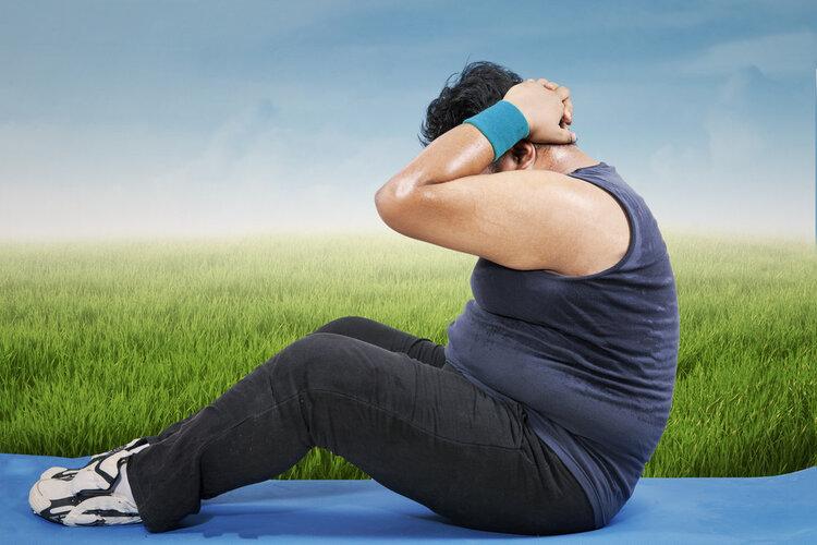 你是实胖还是虚胖?专家教你一招,摸摸肚子就知道了 健康养生 第2张